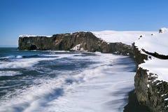Peninsula Dyrhólaey in south Iceland Royalty Free Stock Photos