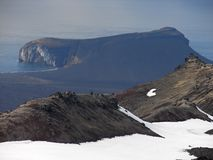 Peninsula Eggoya, Jan Mayen island. In the Arctic Royalty Free Stock Photos