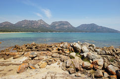Peninsula Freycinet, Tasmania, Australia Stock Photography