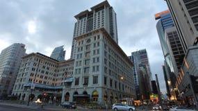 The Peninsula Hotel, Hong Kong. The Peninsula Hotel in Hong Kong royalty free stock image