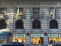 Peninsula Hotel in New York Royalty Free Stock Photography