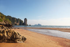 Peninsula Krabi after the big flooding Royalty Free Stock Photo