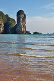 Peninsula Krabi coast in Thailand Royalty Free Stock Image