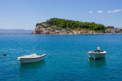 Peninsula in  Makarska, Croatia Royalty Free Stock Images