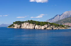 Peninsula in  Makarska, Croatia Royalty Free Stock Photo
