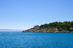 Peninsula in  Makarska, Croatia Stock Photography