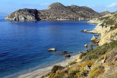 Peninsula near Knidos Stock Image