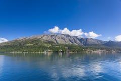 Peninsula Orebic. Croatia. Seaside view of Peninsula Orebic. Croatia stock image