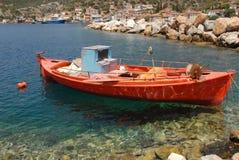 Peninsula of Pylos in Greece Stock Image