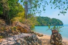 Peninsula of Railay. Krabi, Thailand. Stock Photography