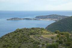 Peninsula at Saint Jean Cap Ferrat, France Royalty Free Stock Image