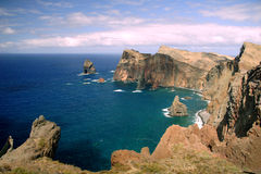 Peninsula Sao Lourenco at Madeira Stock Image