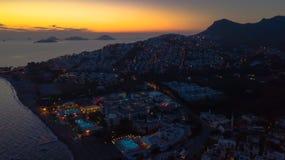 Bodrum peninsula. Peninsula in Turkey royalty free stock photo
