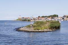 The peninsula of Urk Stock Image