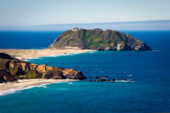 Peninsular Island Stock Photo
