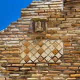 Penis talisman at Pompeii, Napoli. Italy Stock Image