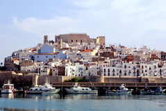 Peniscola (Castellon) - Spanje Stock Afbeeldingen