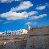 Peniscola Castle in Castellon spain Stock Photography