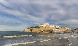 Peniscola, província de Castellon, Espanha Foto de Stock Royalty Free