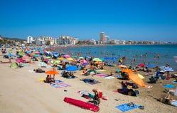 Peniscola, Spagna Immagini Stock Libere da Diritti