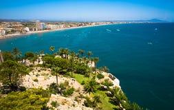 Peniscola Spanien Fotografering för Bildbyråer