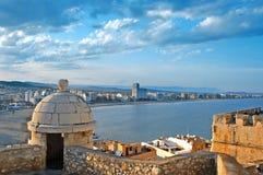 Peniscola, Valença, Spain Foto de Stock Royalty Free