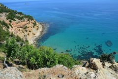 Penisola Cipro di Akamas fotografia stock