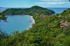 Penisola Papagayo in Guanacaste, Costa Rica Immagine Stock Libera da Diritti