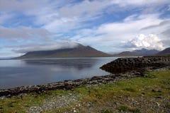 Penisula Grundarfjordur Snaefellsnes в Исландии Стоковое Изображение