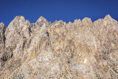 Penitentes-Berg in Mendoza, Argentinien Lizenzfreie Stockfotos