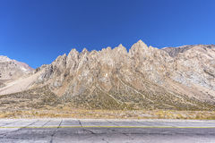 Penitentes Mountain in Mendoza, Argentina Royalty Free Stock Photos