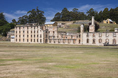 Penitentiary building of Port Arthur Stock Photos