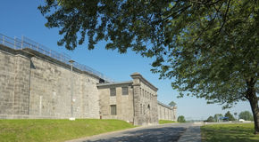 Penitentiary Main view Stock Images