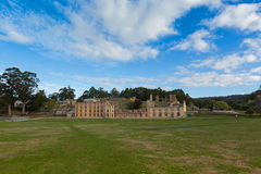 Penitentiary at Port Arthur Historic site on Tasman Peninsula in Royalty Free Stock Image
