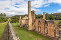 The Penitentiary Port Arthur Tasmania Royalty Free Stock Images