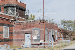 Penitentiary Razor Wire Stock Image