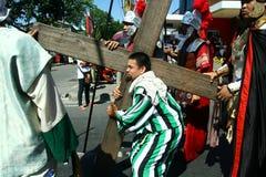 Penitents die de Hartstocht van Christus weer instellen Royalty-vrije Stock Afbeelding