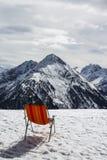 Penkenjoch mountain view in Austria, 2015 Stock Photo