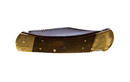 penknife ручки старый деревянный стоковое изображение