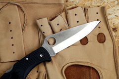 Penknife for the hidden carrying. As a collecting subject Stock Photos