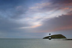 Penmon Lighthouse Stock Photos