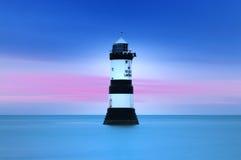 Penmon Lighthouse stock photo