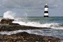 Penmon Lighthouse Royalty Free Stock Photos