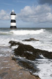 Penmon Lighthouse Stock Image