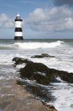 Penmon Lighthouse Stock Image