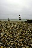 Penmon Point Lighthouse Royalty Free Stock Photo