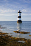 Penmon Point lighthouse, Anglesey Stock Photos
