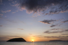 Penmon Point Sunrise Royalty Free Stock Images
