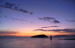 Penmon Point Sunrise Stock Photography