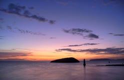 Penmon Point Sunrise Stock Photography